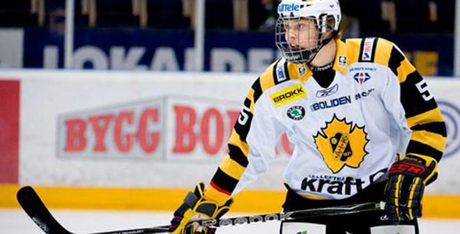 Larsson has Devils of a draft