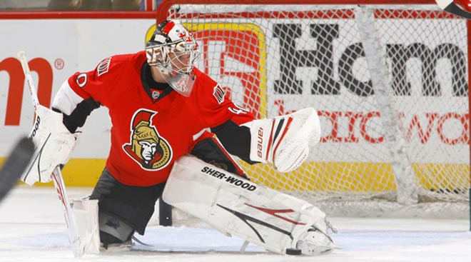 Sens' Lehner named AHL playoff MVP
