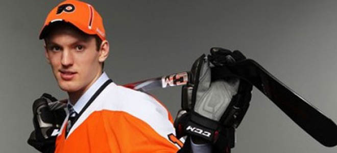 Couturier moving in with Briere