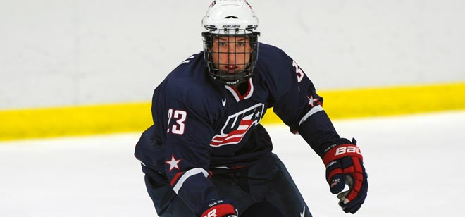 Trouba, Matteau named to USA U18 club