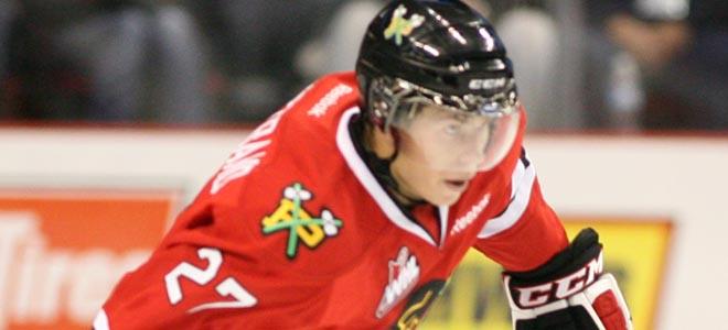 Bjorkstrand - Bryan Heim-Portland Winterhawks