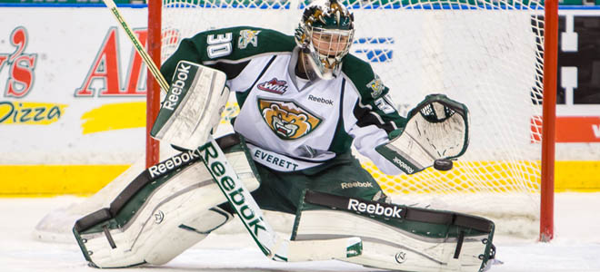 Lotz named FC Goaltender of the Month