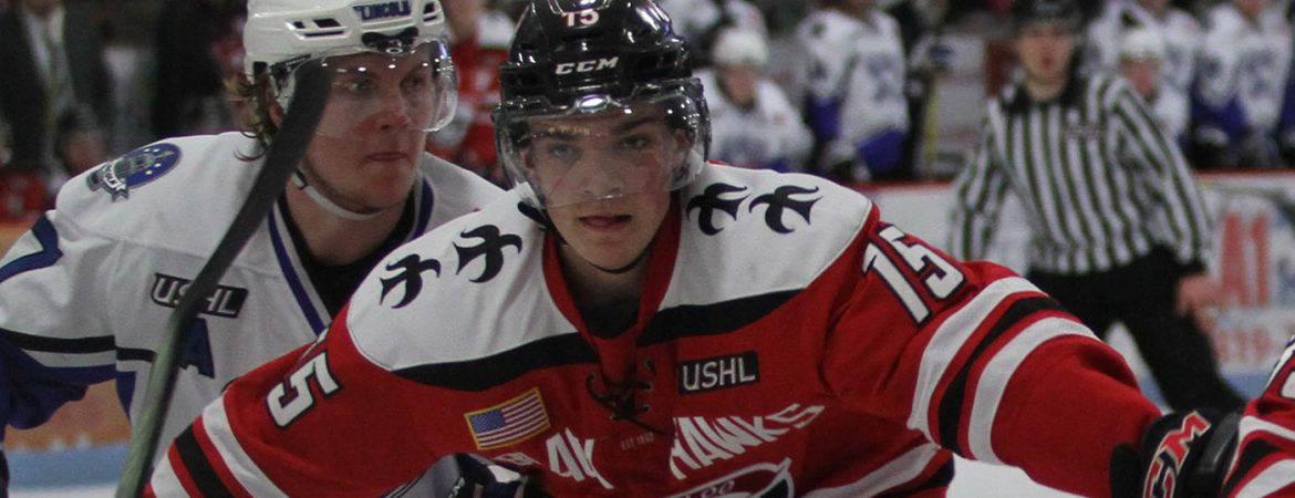 Bowers content with USHL path